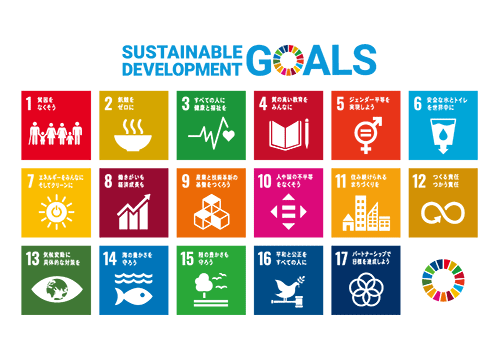 SDGsの17の目標イメージ図